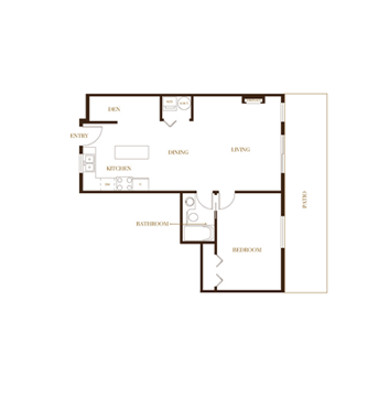 port coquitlam three bedroom townhomes plan a Floor Plans