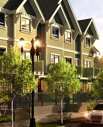port coquitlam townhomes Floor Plans