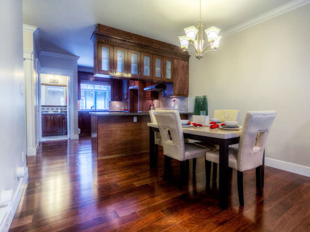 port moody three bedroom townhomes dining room Gallery