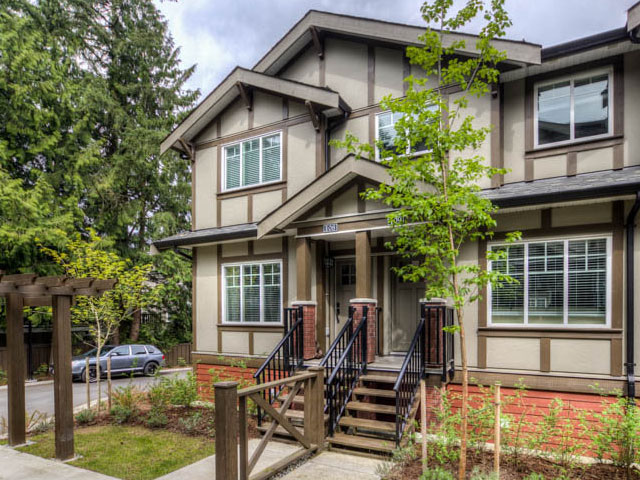 port moody three bedroom townhomes exterior Gallery