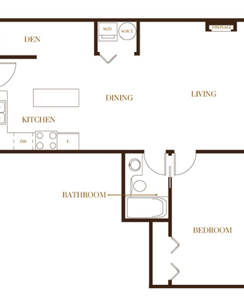 port moody three bedroom townhomes floorplans1 Gallery