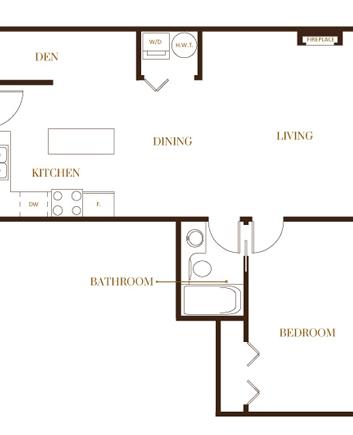 port moody three bedroom townhomes floorplans1 Gallery