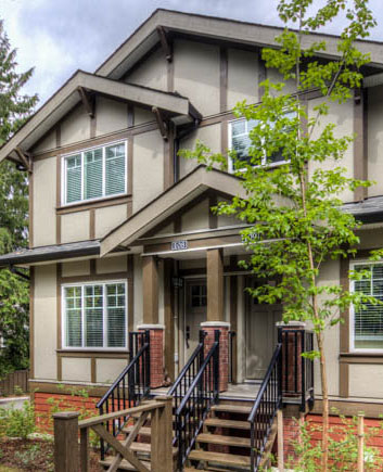 port moody three bedroom townhomes photos1 Gallery